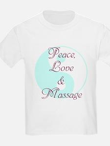Peace, Love and Massage T-Shirt