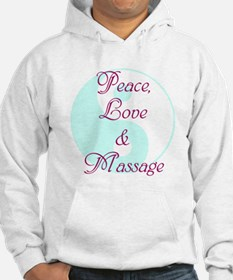 Peace, Love and Massage Hoodie