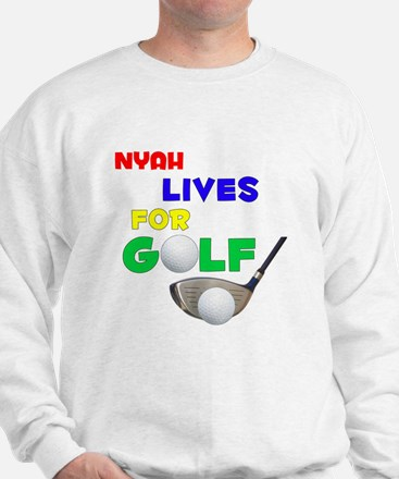 Nyah Lives for Golf - Sweater