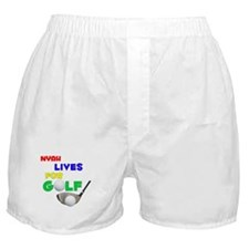 Nyah Lives for Golf - Boxer Shorts