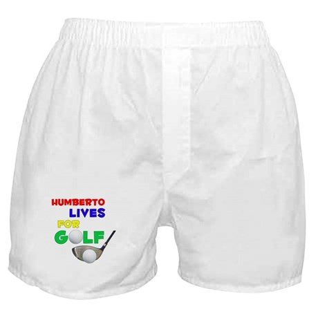 Humberto Lives for Golf - Boxer Shorts