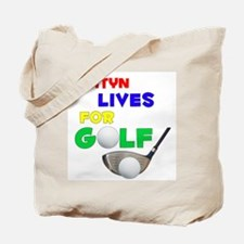 Ashtyn Lives for Golf - Tote Bag