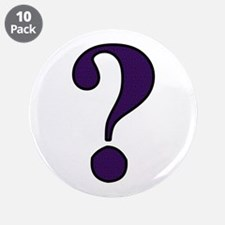 "Question Mark 3.5"" Button (10 pack)"