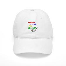 Princess Lives for Golf - Baseball Cap
