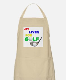 Jay Lives for Golf - BBQ Apron