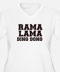 RAMALAMADINGDONG Plus Size T-Shirt