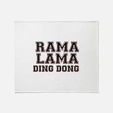 RAMALAMADINGDONG Throw Blanket