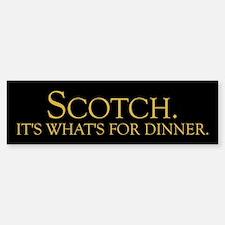 Scotch Bumper Bumper Bumper Sticker