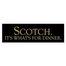 Scotch Bumper Bumper Sticker