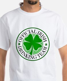 Irish Drinking Team (shamrock) Shirt