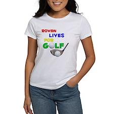 Rowan Lives for Golf - Tee