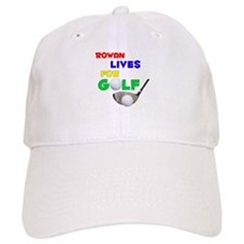 Rowan Lives for Golf - Baseball Cap