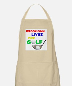 Brooklynn Lives for Golf - BBQ Apron