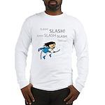 Miko: Slash! Slash! Slash! Long Sleeve T-Shirt