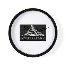 Swiss foil Wall Clock