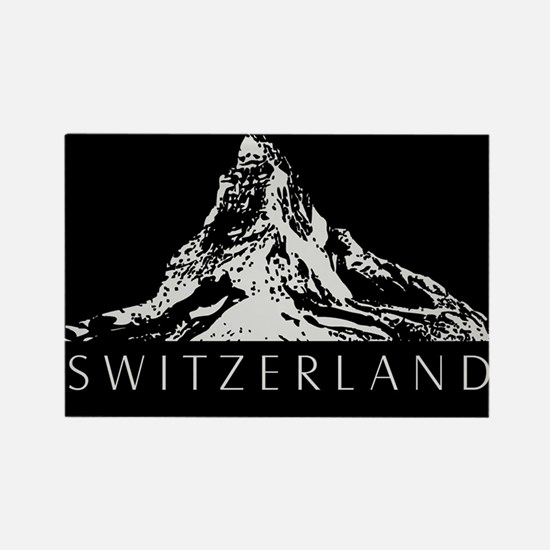 Swiss foil Rectangle Magnet
