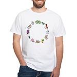 The Twelve Gods White T-Shirt