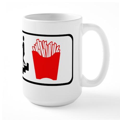 In Case of Fries Large Mug