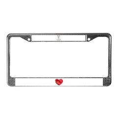 BRIDE TO BE License Plate Frame