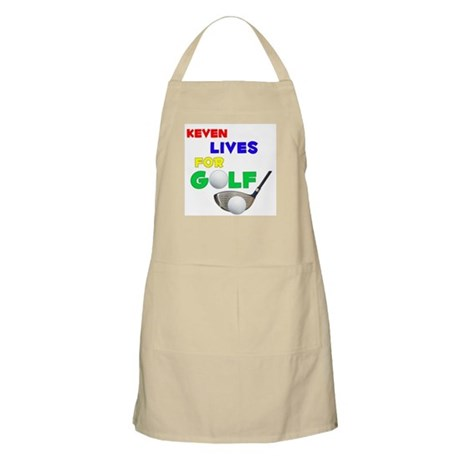 Keven Lives for Golf - BBQ Apron