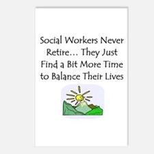 Retirement Gifts Postcards (Package of 8)