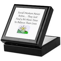 Retirement Gifts Keepsake Box