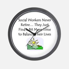 Retirement Gifts Wall Clock
