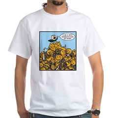 Sexy Shoeless God of War! White T-Shirt