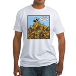 Sexy Shoeless God of War! Fitted T-Shirt
