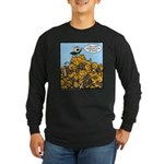 Sexy Shoeless God of War! Long Sleeve Dark T-Shirt