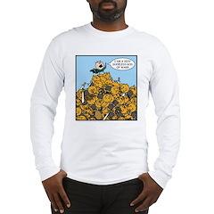 Sexy Shoeless God of War! Long Sleeve T-Shirt