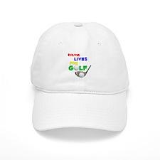 Sylvia Lives for Golf - Baseball Cap
