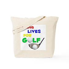 Taniya Lives for Golf - Tote Bag
