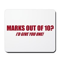 Marks Out Of Ten? Mousepad