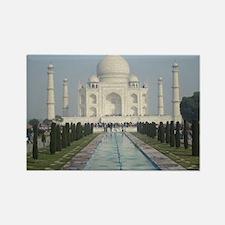 Cute Taj mahal Rectangle Magnet