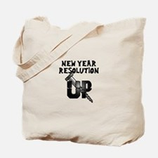 Resolution Screw Up Tote Bag