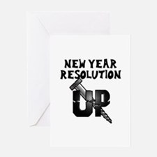 Resolution Screw Up Greeting Card