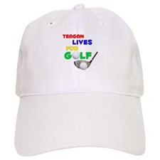 Teagan Lives for Golf - Baseball Cap