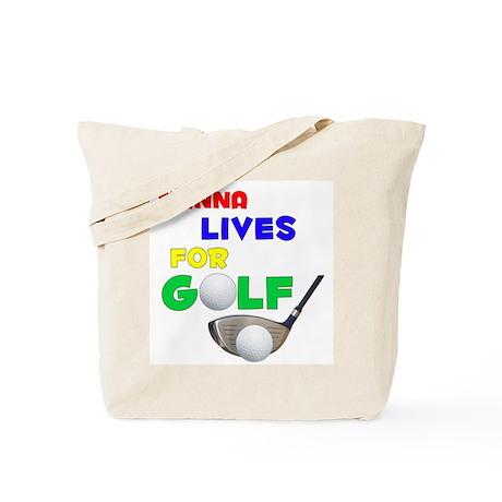 Tianna Lives for Golf - Tote Bag