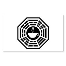 Java Station Rectangle Decal