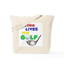 Victoria Lives for Golf - Tote Bag