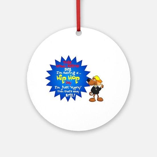 'Best Urban Retirement Rap.:-) Ornament (Round)