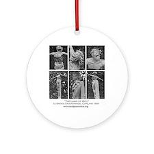 Lamb of God (c)Brenda Crocker Ornament (Round)