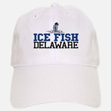 Ice FIsh Delaware Baseball Baseball Cap