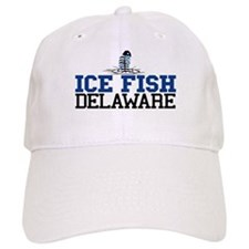 Ice FIsh Delaware Baseball Cap