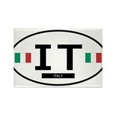 Italy 2F Rectangle Magnet