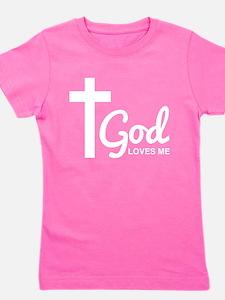 Jesus cross Girl's Tee