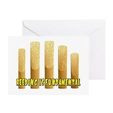 Reeding Is Fundamental Greeting Cards (Package of