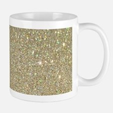 art deco gold glitter Mugs