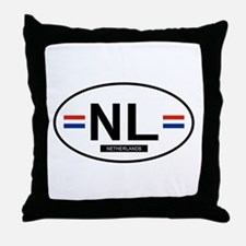 Netherlands 2F Throw Pillow